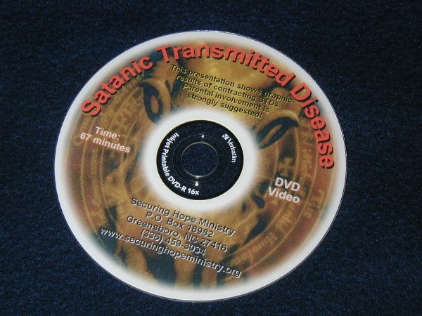Satanic Transmitted Disease DVD