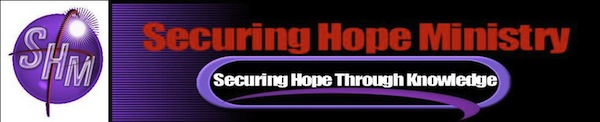 Securing Hope Ministry Catalog